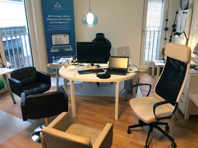 Das SEOeffekt Büro: Meeting Raum