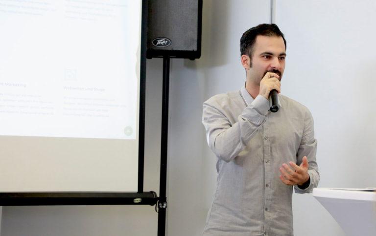 Hamed Farhadian als Speaker auf der B2BNord Messe 2019