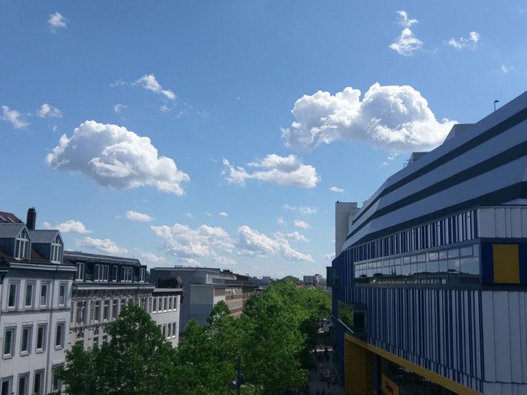 Das SEOeffekt Büro: Die Balkon-Aussicht