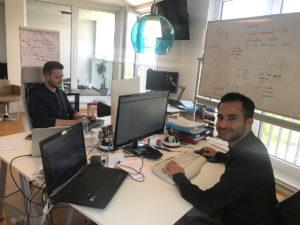 Das SEOeffekt Team bei der Arbeit