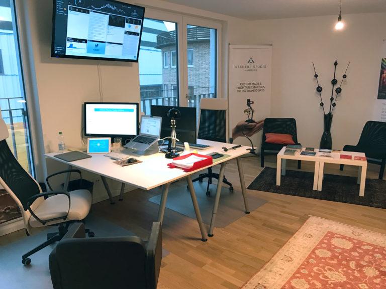 Das SEOeffekt Büro: Arbeitsplätze